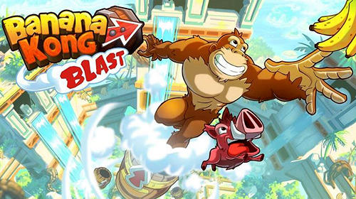 Full version of Android Runner game apk Banana kong blast for tablet and phone.