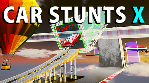 Full version of Android Cars game apk Car stunts x for tablet and phone.
