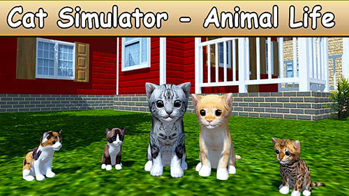 Full version of Android Simulation game apk Cat simulator: Animal life for tablet and phone.