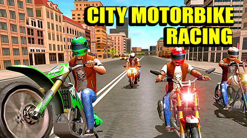 Full version of Android 4.1 apk City motorbike racing for tablet and phone.