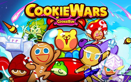 Download Cookie wars: Cookie run Android free game.