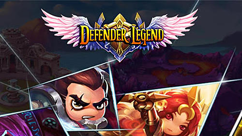 Full version of Android Strategy game apk Defender legend: Hero champions TD for tablet and phone.