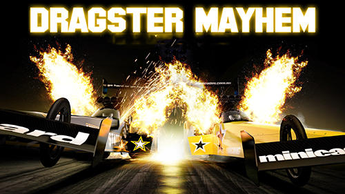 Full version of Android Cars game apk Dragster mayhem: Top fuel drag racing for tablet and phone.