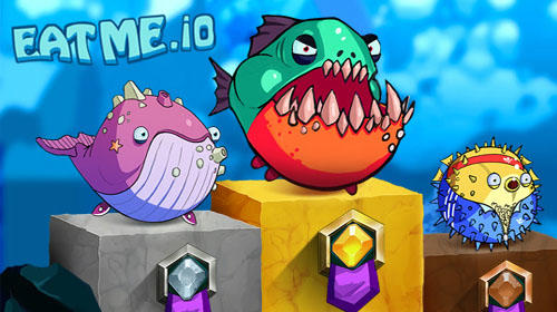 Full version of Android Online game apk Eatme.io: Hungry fish fun game for tablet and phone.