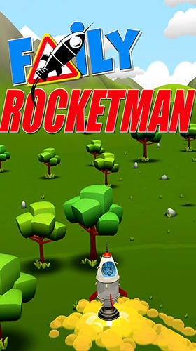 Full version of Android Flying games game apk Faily rocketman for tablet and phone.