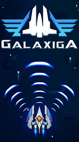 Full version of Android Flying games game apk Galaxiga: Classic 80s arcade space shooter for tablet and phone.