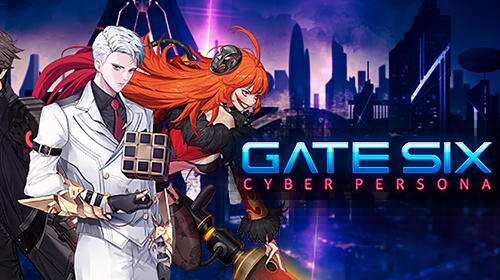 Full version of Android RPG game apk Gate six: Cyber persona for tablet and phone.