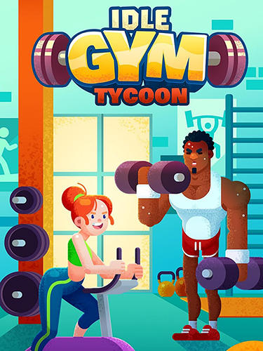 Full version of Android Arcade game apk Idle fitness gym tycoon for tablet and phone.
