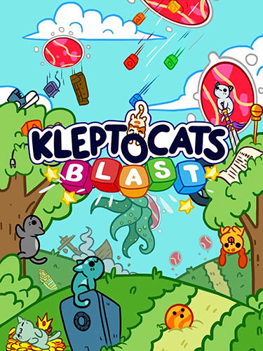 Full version of Android Puzzle game apk Klepto cats mystery blast for tablet and phone.
