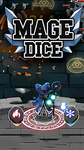 Full version of Android Arcade game apk Mage dice for tablet and phone.