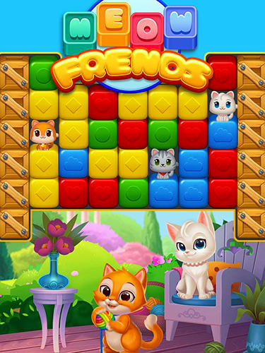 Full version of Android Puzzle game apk Meow friends for tablet and phone.