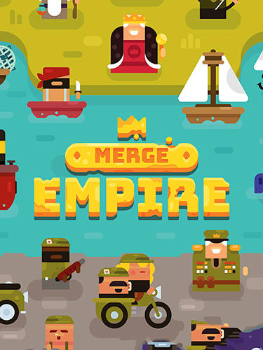 Full version of Android Clicker game apk Merge empire: Idle kingdom and crowd builder tycoon for tablet and phone.