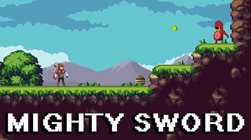 Full version of Android Platformer game apk Mighty sword for tablet and phone.