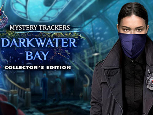 Full version of Android First-person adventure game apk Mystery trackers: Darkwater bay for tablet and phone.