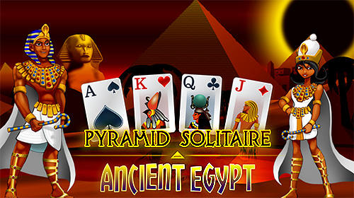 Full version of Android Solitaire game apk Pyramid solitaire: Ancient Egypt for tablet and phone.