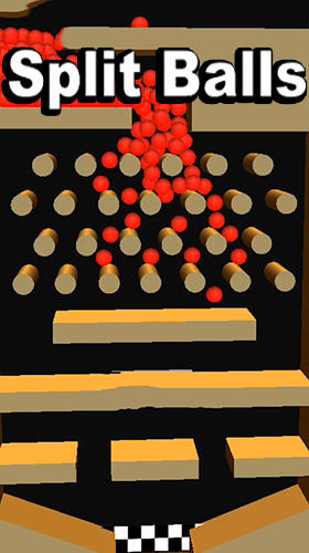 Full version of Android Physics game apk Split balls 3D for tablet and phone.