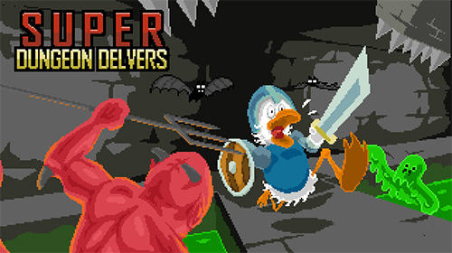 Full version of Android Platformer game apk Super dungeon delvers for tablet and phone.