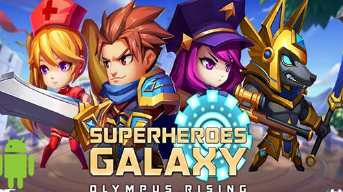 Full version of Android RPG game apk Super heroes galaxy: Olympus rising for tablet and phone.