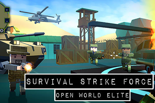 Full version of Android Shooter game apk Survival strike force open world elite for tablet and phone.