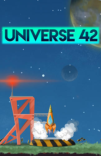 Full version of Android Arcade game apk Universe 42: Space endless runner for tablet and phone.