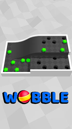 Full version of Android Time killer game apk Wobble 3D for tablet and phone.