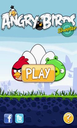 Full version of Android apk Angry Birds Shooter for tablet and phone.