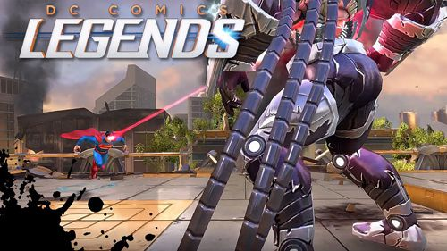 Full version of Android 4.4.4 apk DC comics: Legends for tablet and phone.