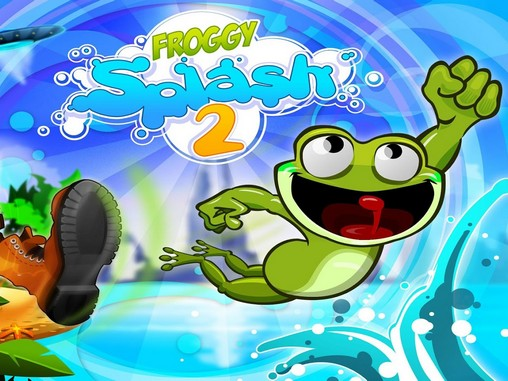 Full version of Android 4.0.4 apk Froggy splash 2 for tablet and phone.
