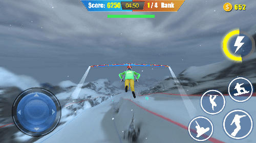 Full version of Android apk app Snowboard freestyle skiing for tablet and phone.