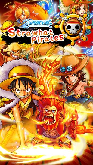 Full version of Android 4.2.2 apk Strawhat pirates: Pirates king. Romance dawn for tablet and phone.