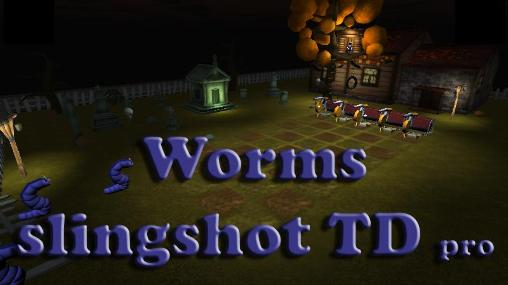 Full version of Android 4.2.2 apk Worms slingshot TD pro for tablet and phone.