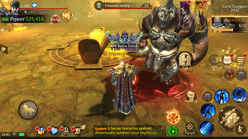 Gameplay of the Brave blades: Discord war for Android phone or tablet.