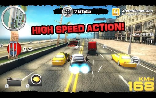 Full version of Android apk app Burnin' rubber: Crash n' burn for tablet and phone.