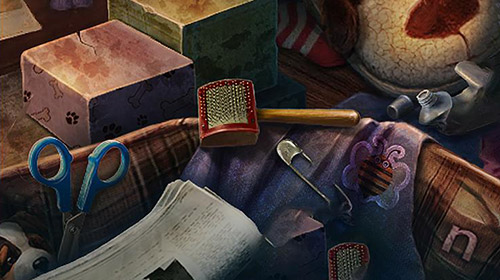 Gameplay of the Hidden object. Edge of reality: Lethal prediction. Collector's edition for Android phone or tablet.