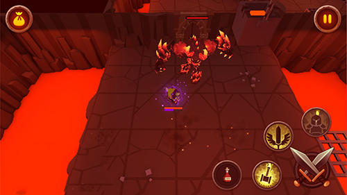 Gameplay of the King of raids: Magic dungeons for Android phone or tablet.
