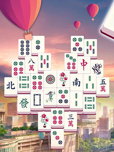 Gameplay of the Mahjong tours for Android phone or tablet.