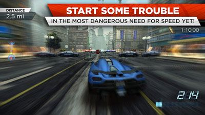 Full version of Android apk app Need for Speed: Most Wanted v1.3.69 for tablet and phone.