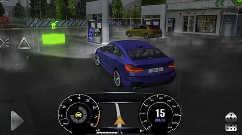 Gameplay of the Real driving sim for Android phone or tablet.