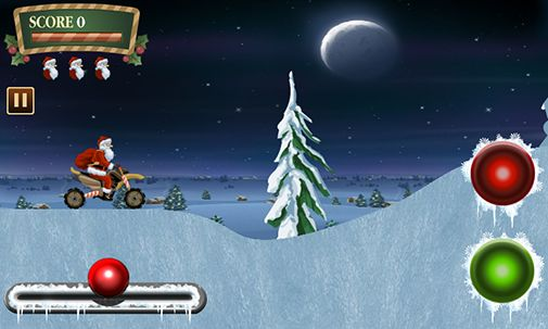 Full version of Android apk app Santa rider for tablet and phone.