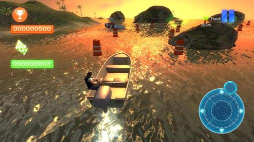 Full version of Android apk app Speed boat parking 3D 2015 for tablet and phone.