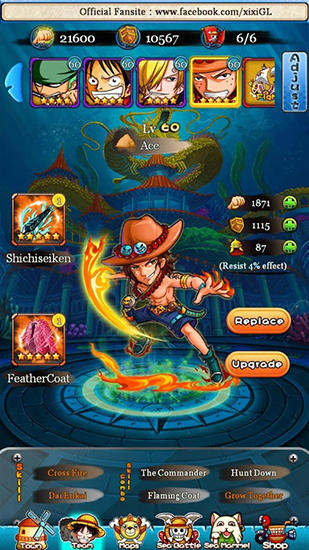 Full version of Android apk app Strawhat pirates: Pirates king. Romance dawn for tablet and phone.