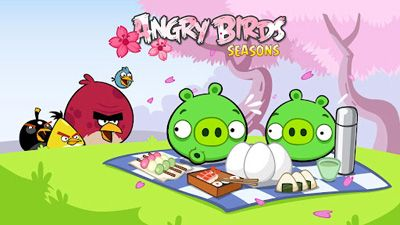 Angry Birds Seasons: Cherry Blossom Festival12 - Android game screenshots.