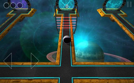 Gameplay of the Ball alien for Android phone or tablet.