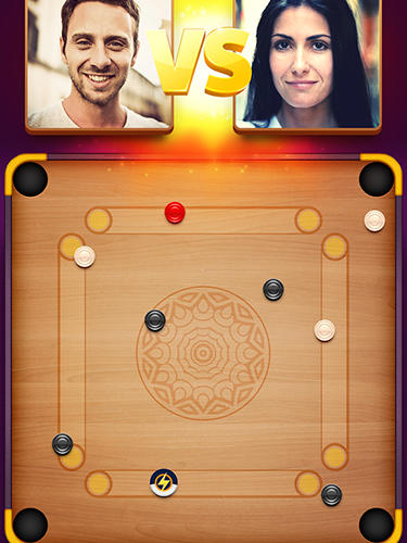 Disc pool carrom - Android game screenshots.