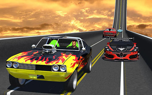 Gameplay of the Extreme city GT ramp stunts for Android phone or tablet.