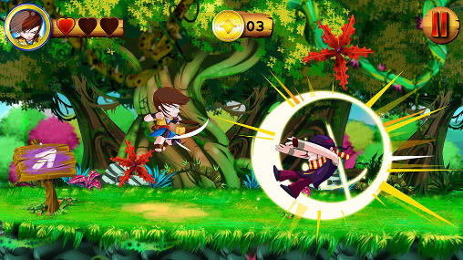 Gameplay of the Go king game for Android phone or tablet.