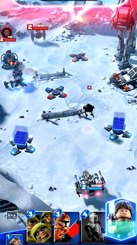LEGO Star Wars: Battles - Android game screenshots.