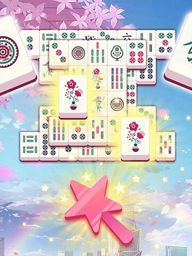 Mahjong tours - Android game screenshots.
