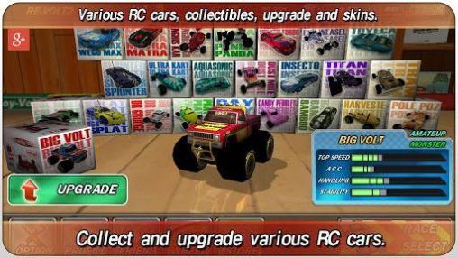 Gameplay of the Re-volt 2: Best RC 3D racing for Android phone or tablet.