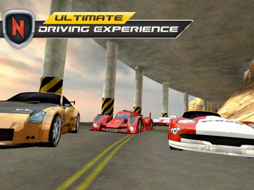 Gameplay of the Real car speed: Need for racer for Android phone or tablet.